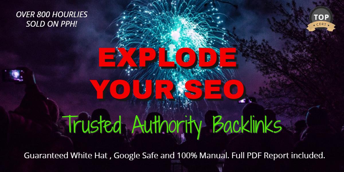 Explode your SEO with 60 high DA Premium SEO Backlinks