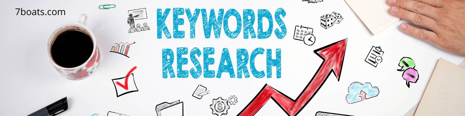 I will do keyword research,  SEO.