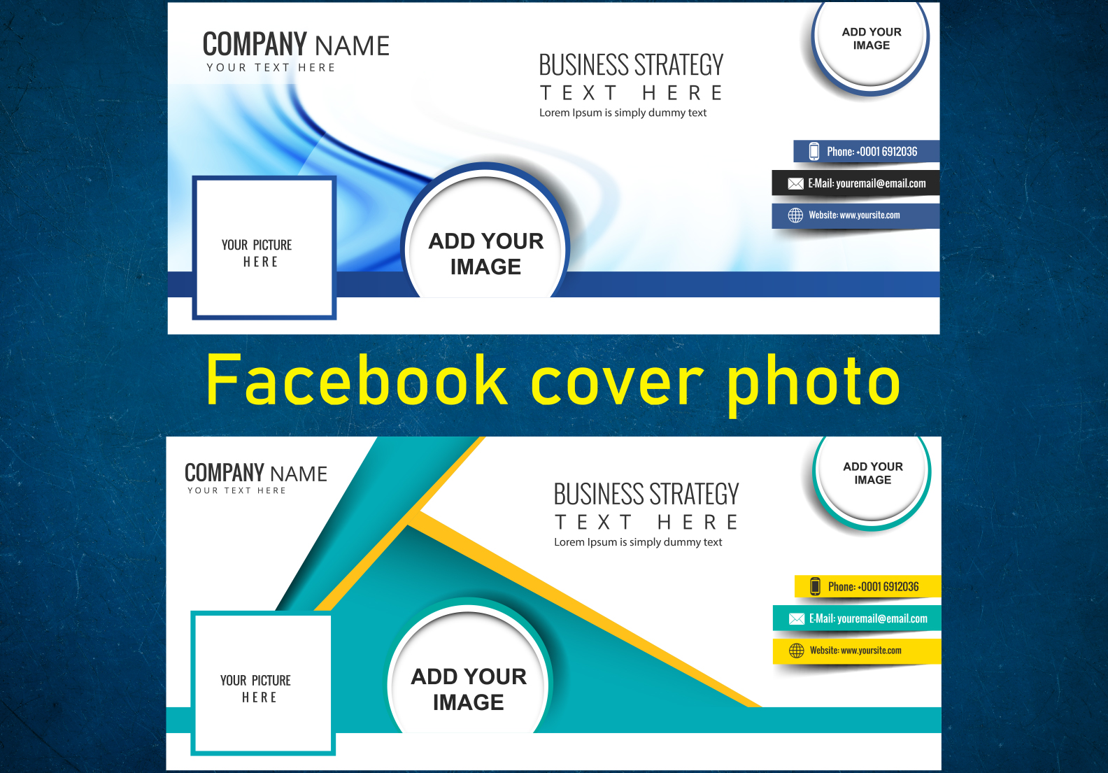I will create professional Facebook cover design