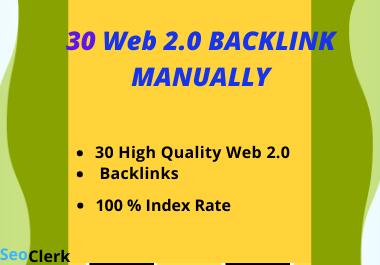 I Will Make 10 Authority web 2 0 Backlink