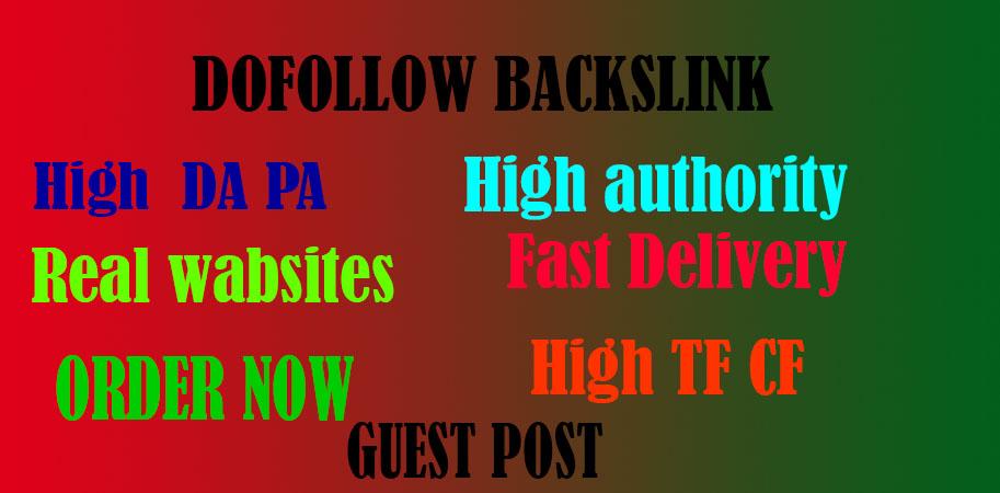 I will guest post on DA 97 site dofoll0w black-link.