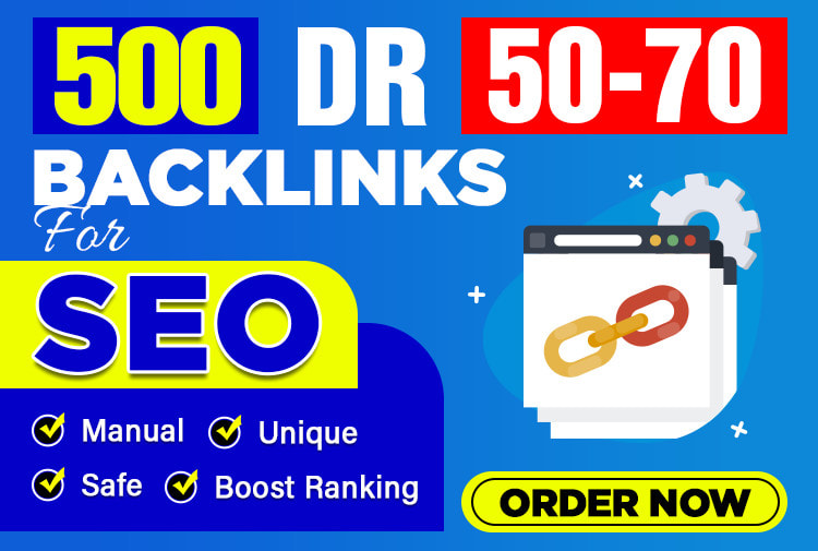 I will make 10 DR 60 to 80 high authority homepage backlinks for seo