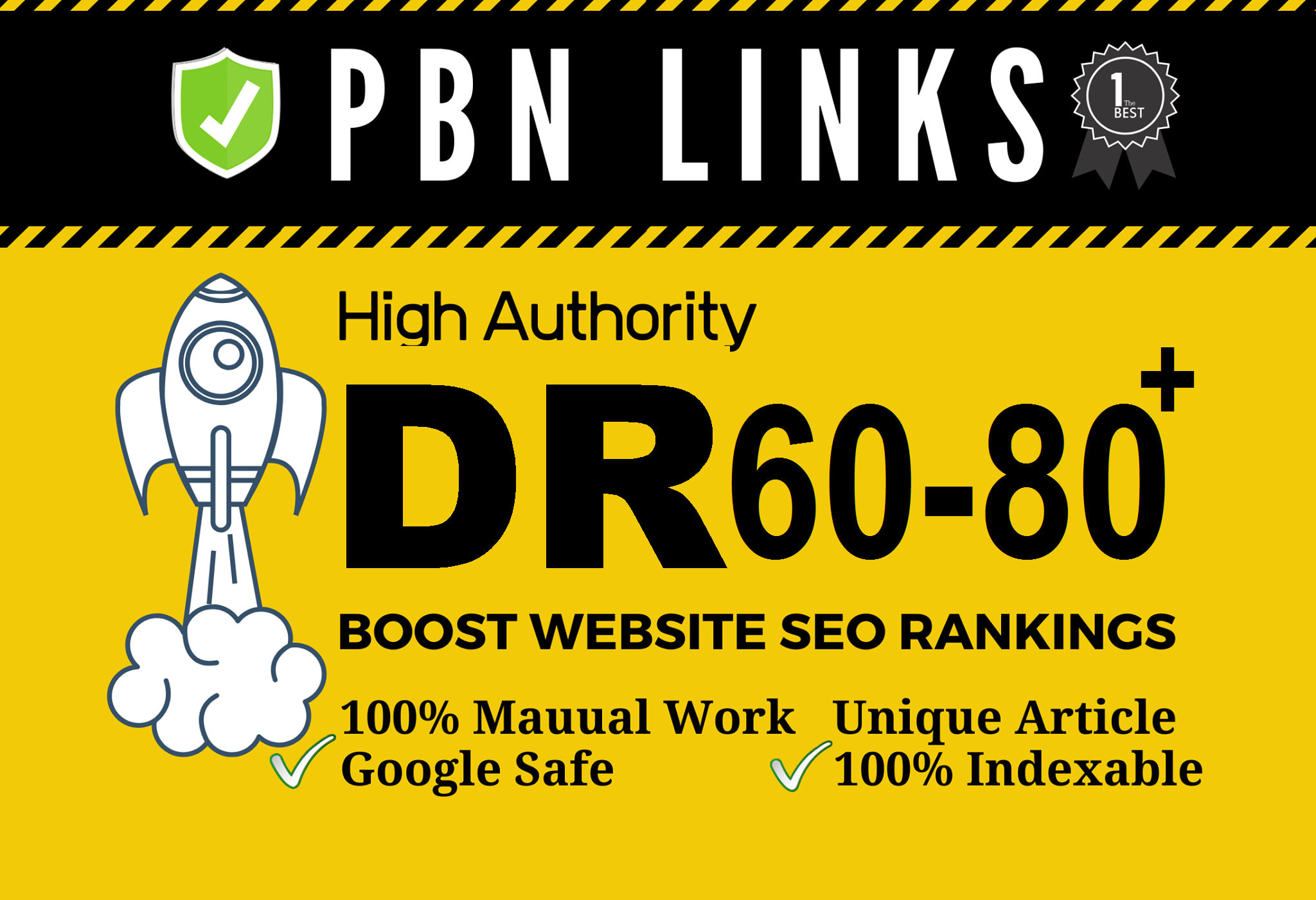 I'll provide 50 high DR 60plus dofollow permanent homepage backlinks