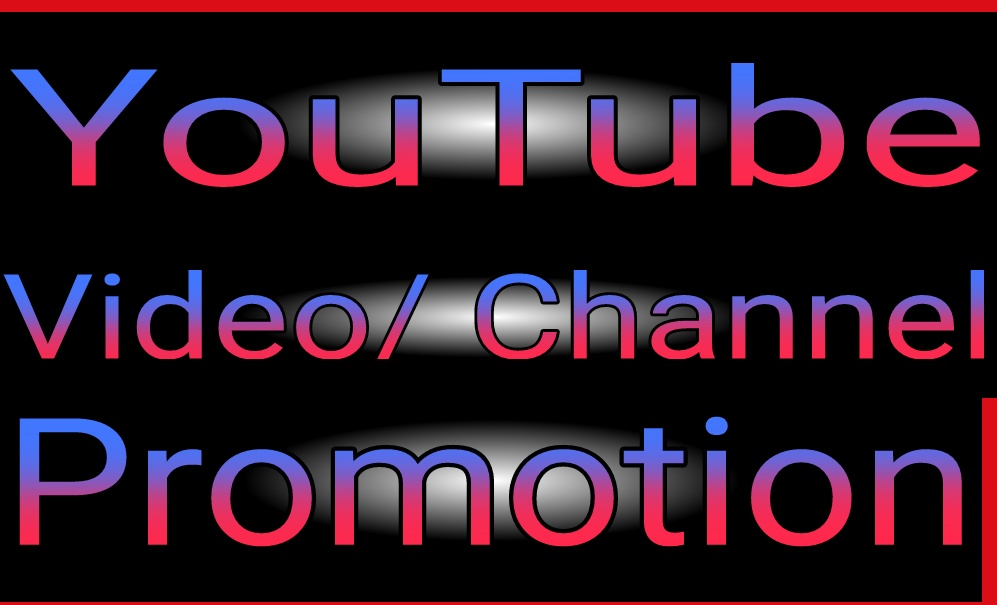 Instantly Start YouTube Video All package High Quality promotion