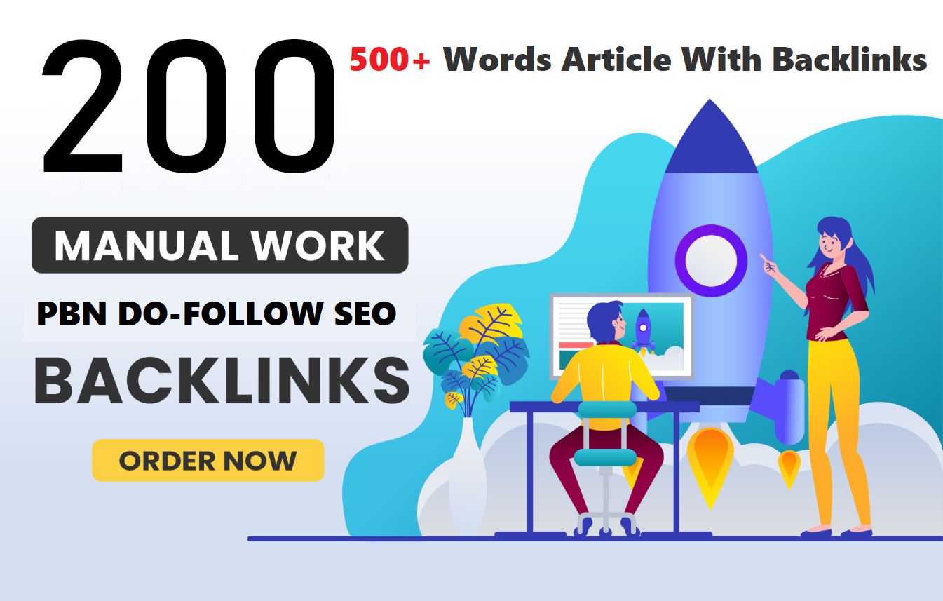 Build Unique 200 PBN Permanent Homepage Dofollow High Quality Backlinks