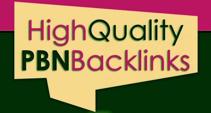 6 high da 30 to 40+ homepage high quality pbn backlinks