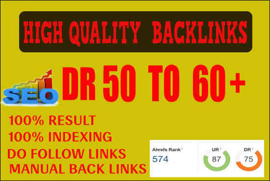 9 DR 50 to 60+ permanant homepage high quality pbn backlinks.