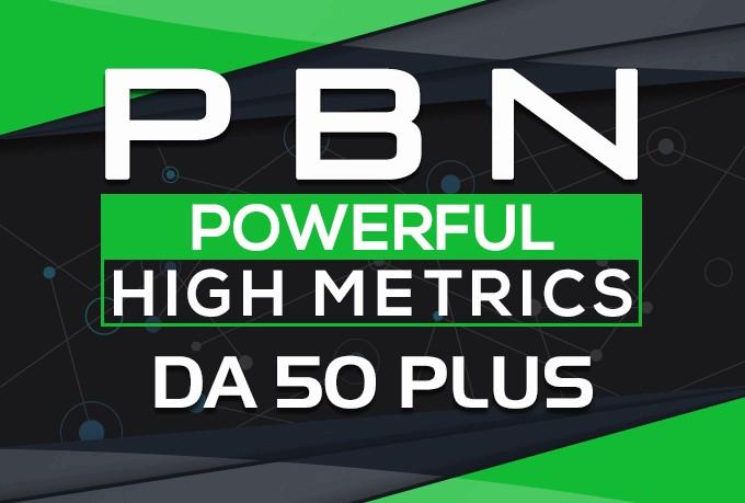 3 high da 30 to 40 homepage high quality pbn backlinks