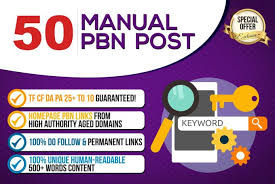 Create 50 permanent homepage pbn backlinks