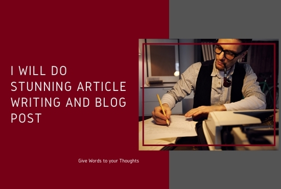 1000 words stunning seo article writing and blog post for your website