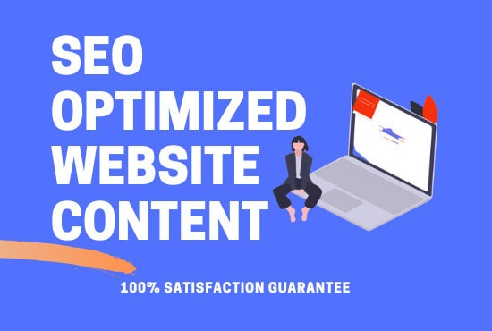 I will be your SEO article and website content writer