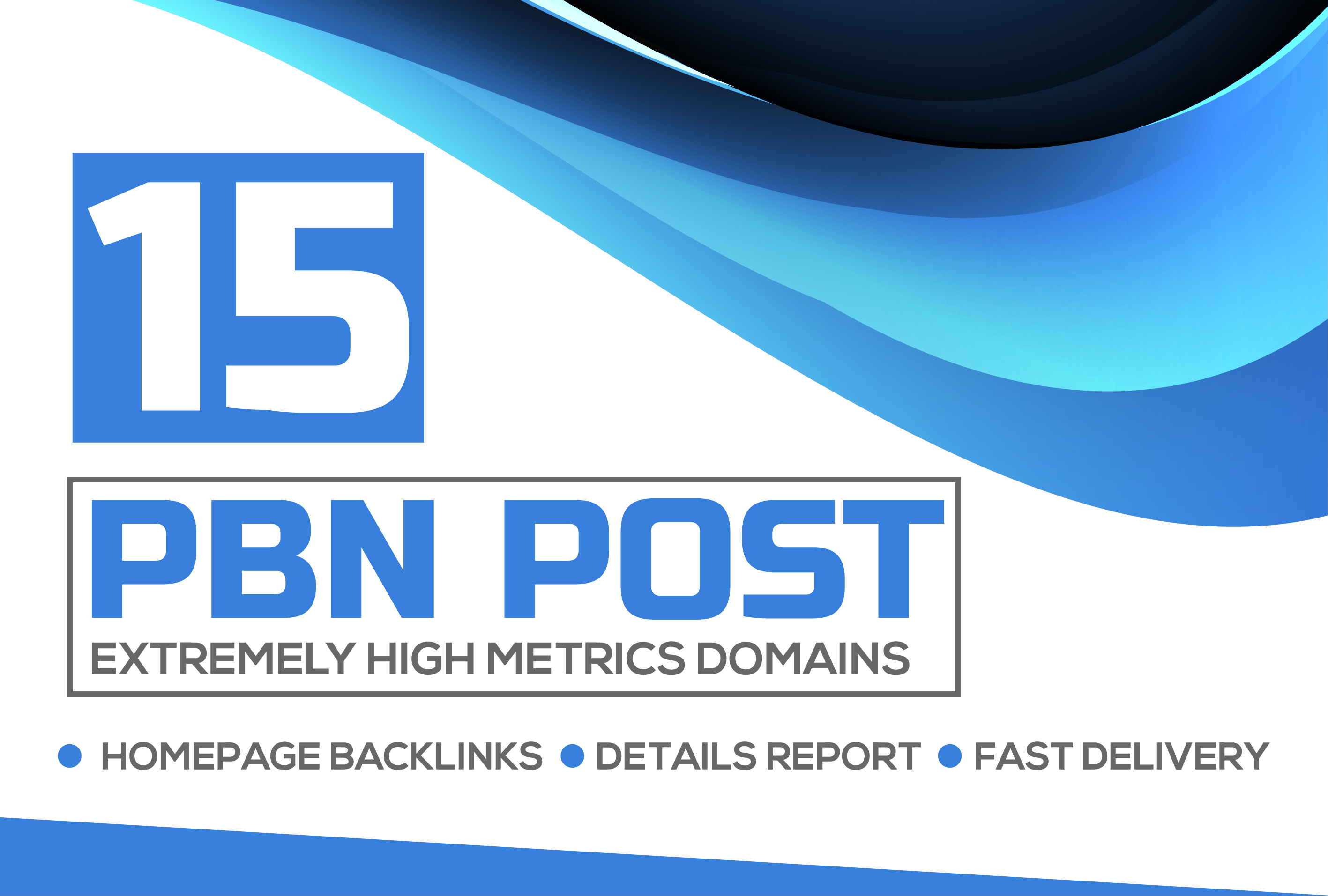 I will Create 15 permanent High DA PA CF Powerful PBN Backlinks In 24 Hour
