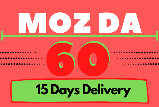 I will increase moz domain authority da 55 plus in 25 days