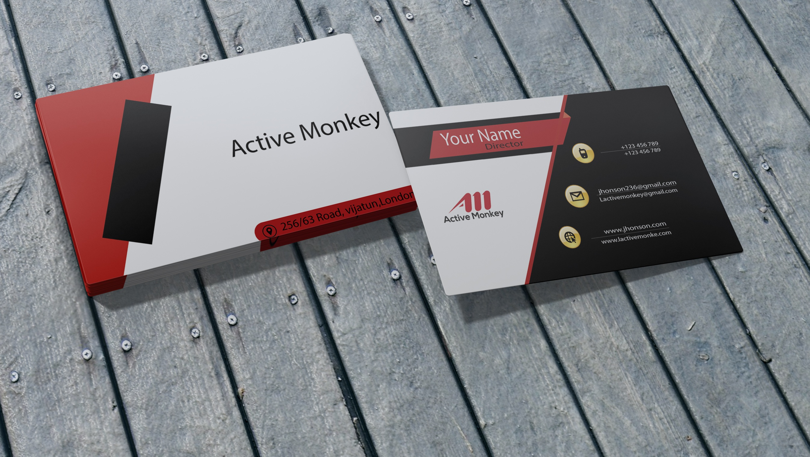 I will do creative and awesome business card design
