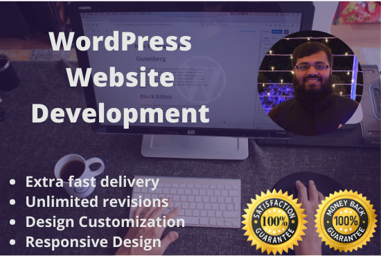 I will design and redesign a responsive wordpress website