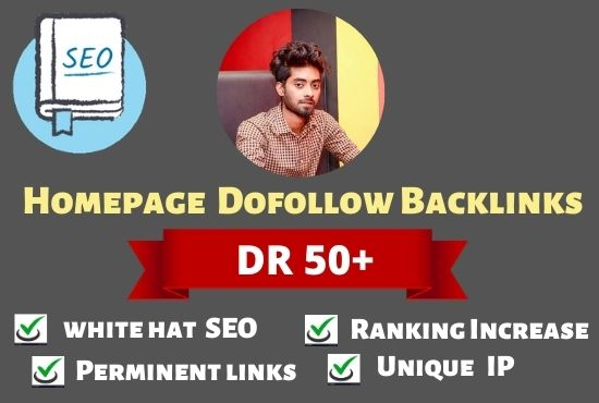 I will provide 80 white hat SEO backlinks off page SEO DR 50 to 80