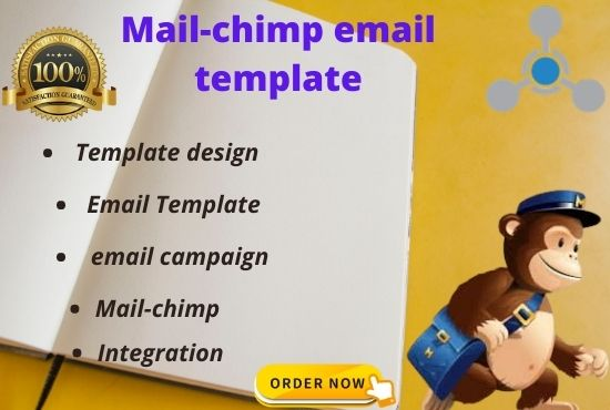 I will design mail-chimp email template
