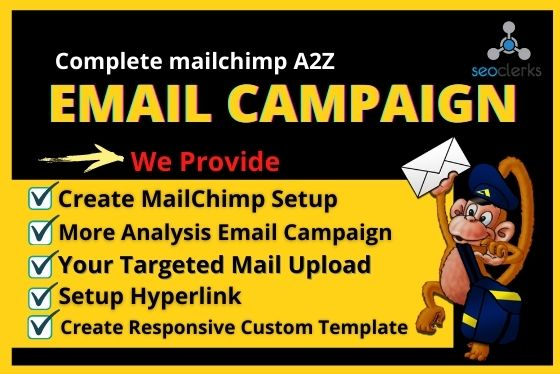 Complete MailChimp A2Z Email Campaign