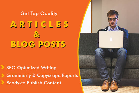 I will write SEO Friendly article and blog posts of 500 words