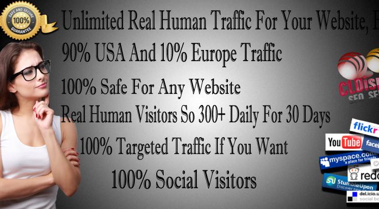 Organic Keywords USA Traffic BY Social media marketing Visitors To Your Web Site Web Traffic