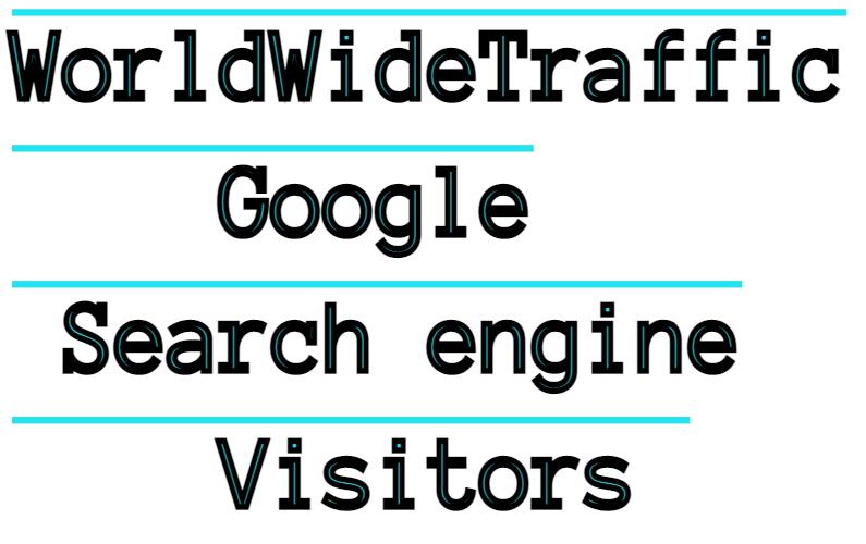 Google Search engine Keywords 30Days Traffic To Website