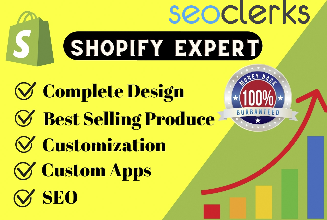 I will setup shopify store or shopify website design 3 pages 15 Products upload Beautiful design