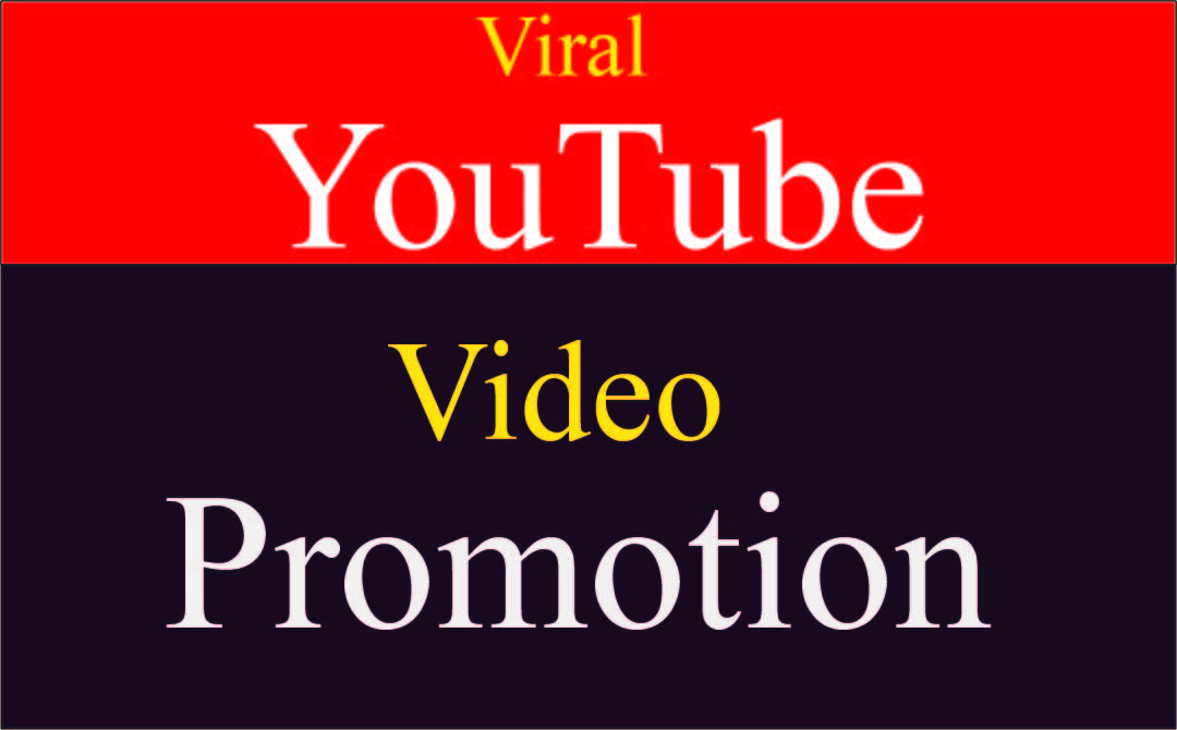 Fast organic YouTube video promotion by social media marketing