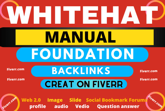 I am an expert in SEO. Those of you who need the work of Foundation Backlink can message me. Thanks