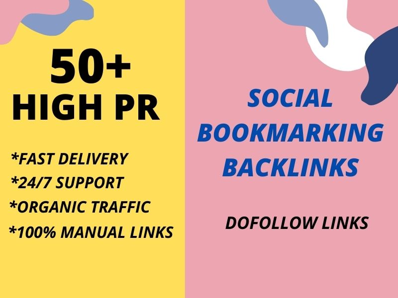 I Will Do Manually 50 Social Bookmarking Backlinks