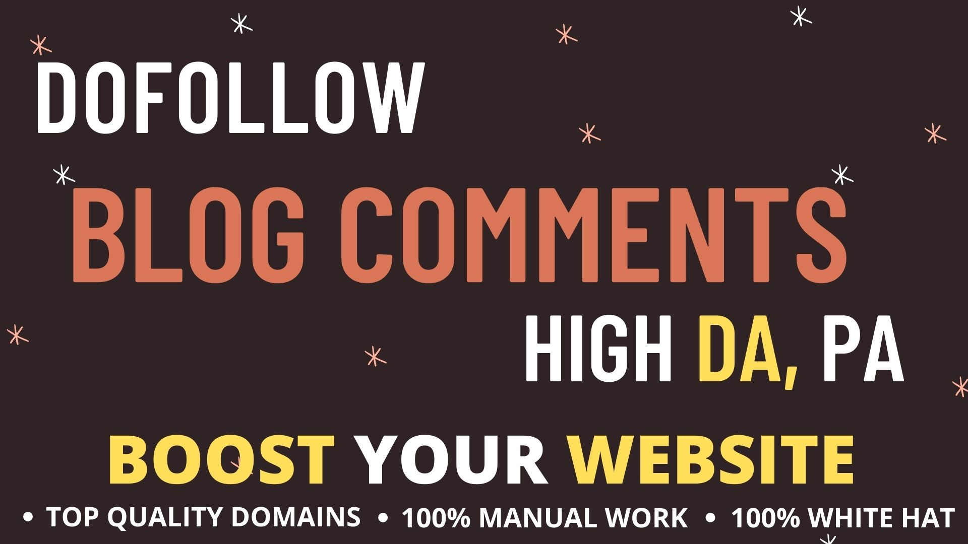 I Will Provide High DA PA 200 Do Follow Manual Blog Comments