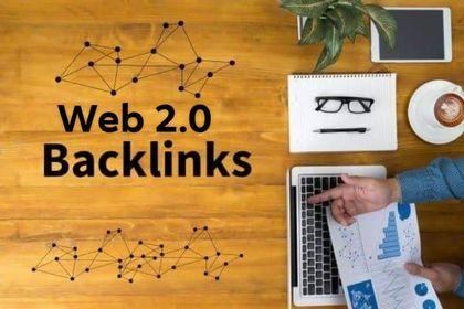 I Will Provide 30 Dofollow web 2 0 Backlinks service