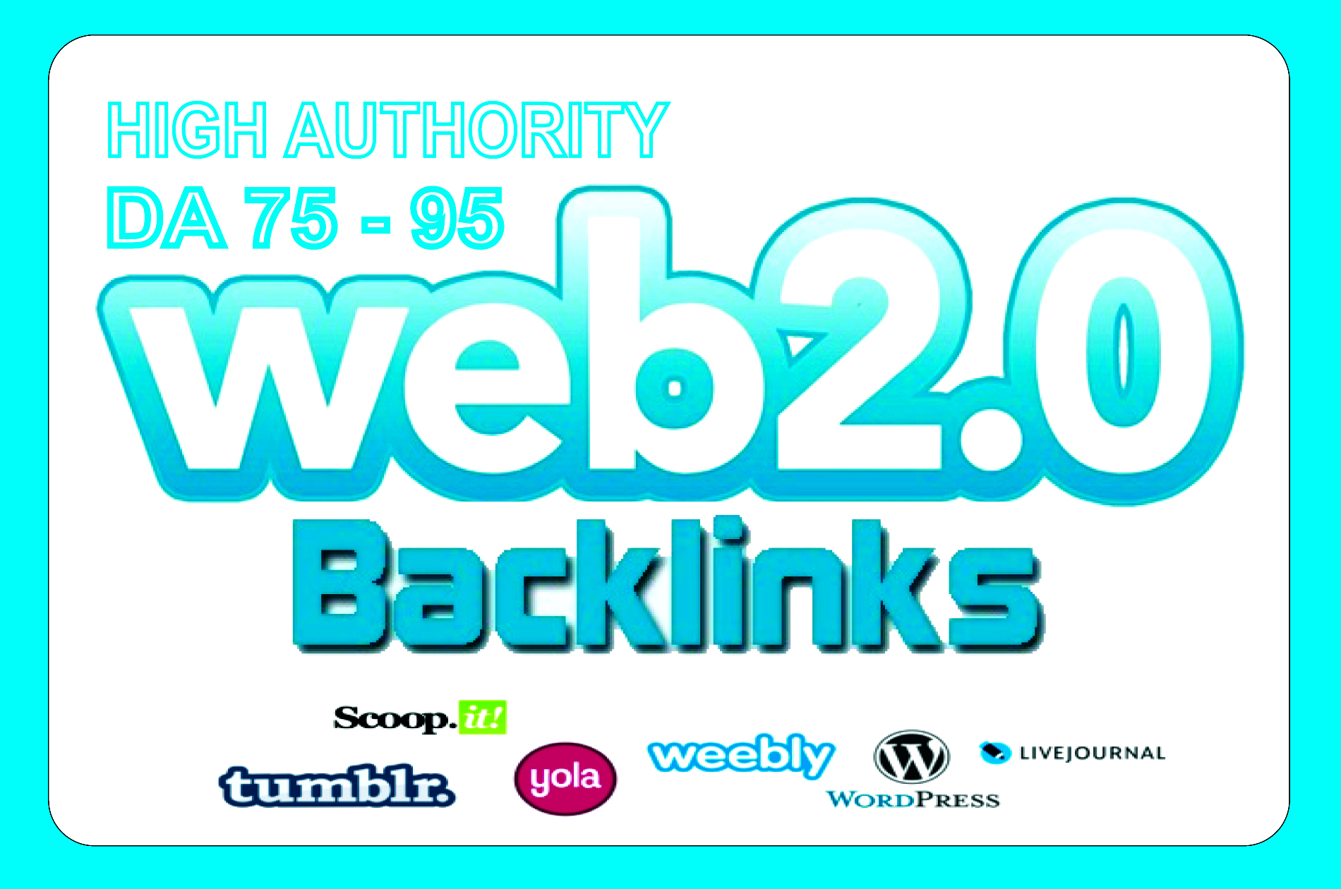 I Will Make 20 High Authority Do-Follow Web 2 0 Backlinks With Content