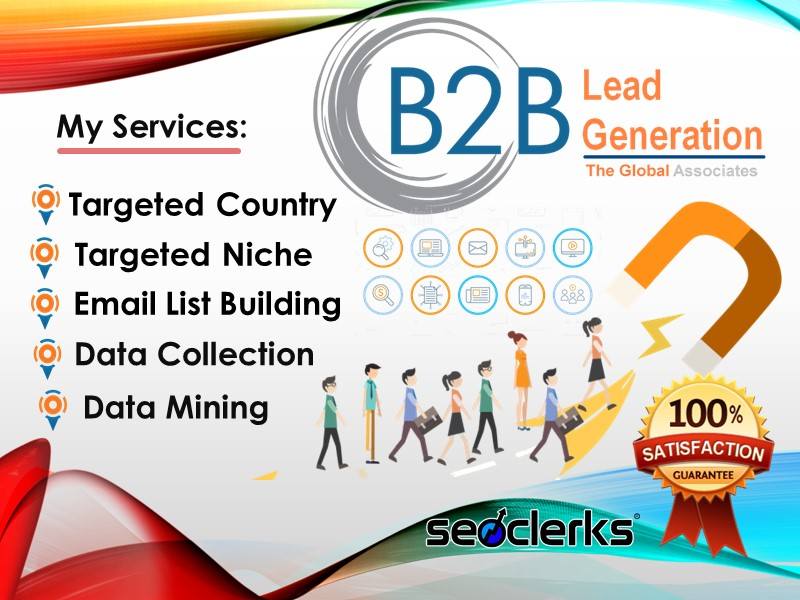 I Will Provide B2B LinkedIn Lead Generation And Targeted Email Finding List