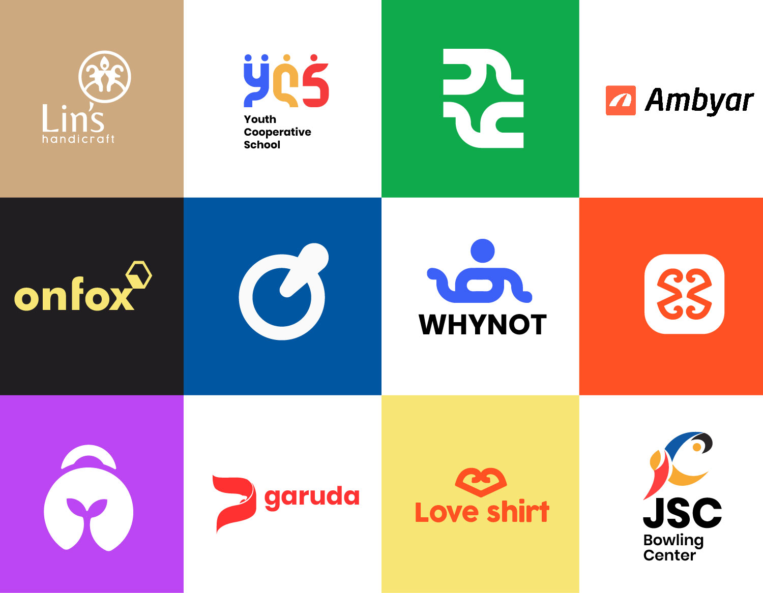 I will create a logo for your website brand with a unique