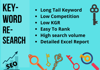 I will do unique long tail SEO key word research & competitor analysis