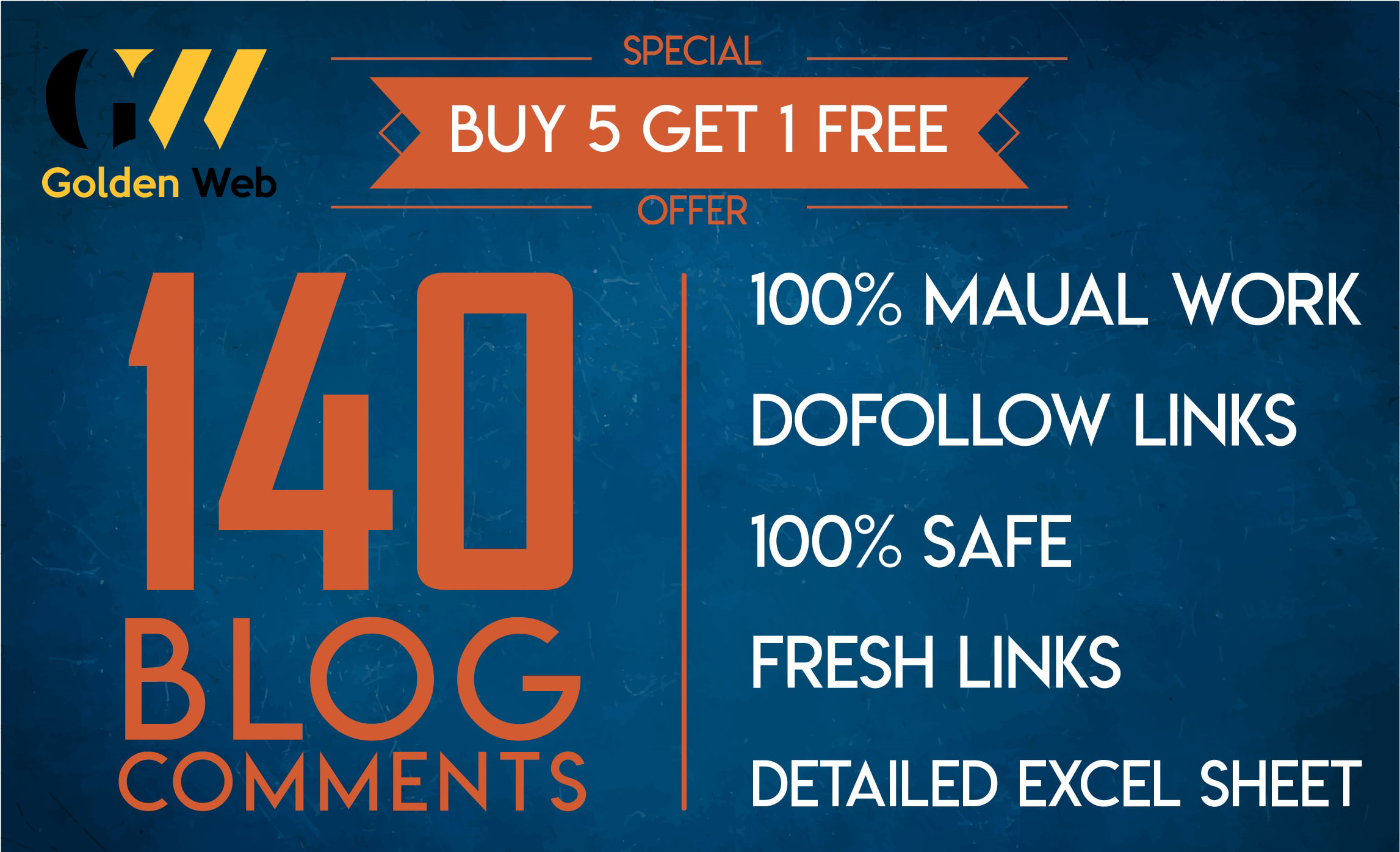 Create 140 dofollow blog comment high quality backlinks