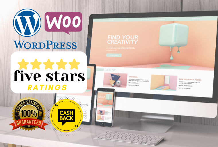 I Will Design & Develop Responsive, Fast,  SEO Friendly Wordpress website