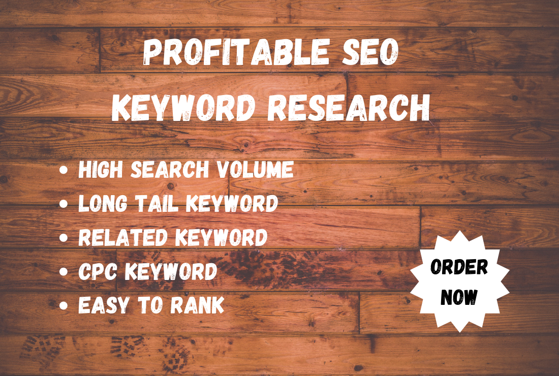 I will do best longtail profitable SEO Keyword research for your website