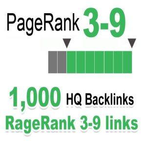 Provide 1000 HQ PR 3-9 backlinks