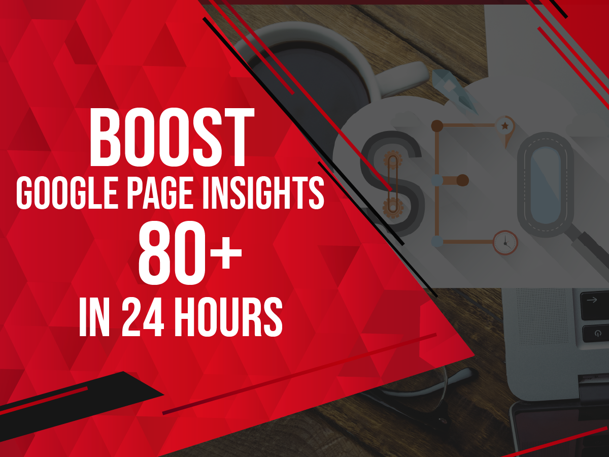 i will speed up your website on google page speed insights