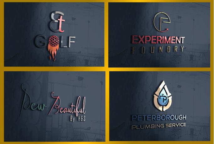 I will design any kind of minimalist logo