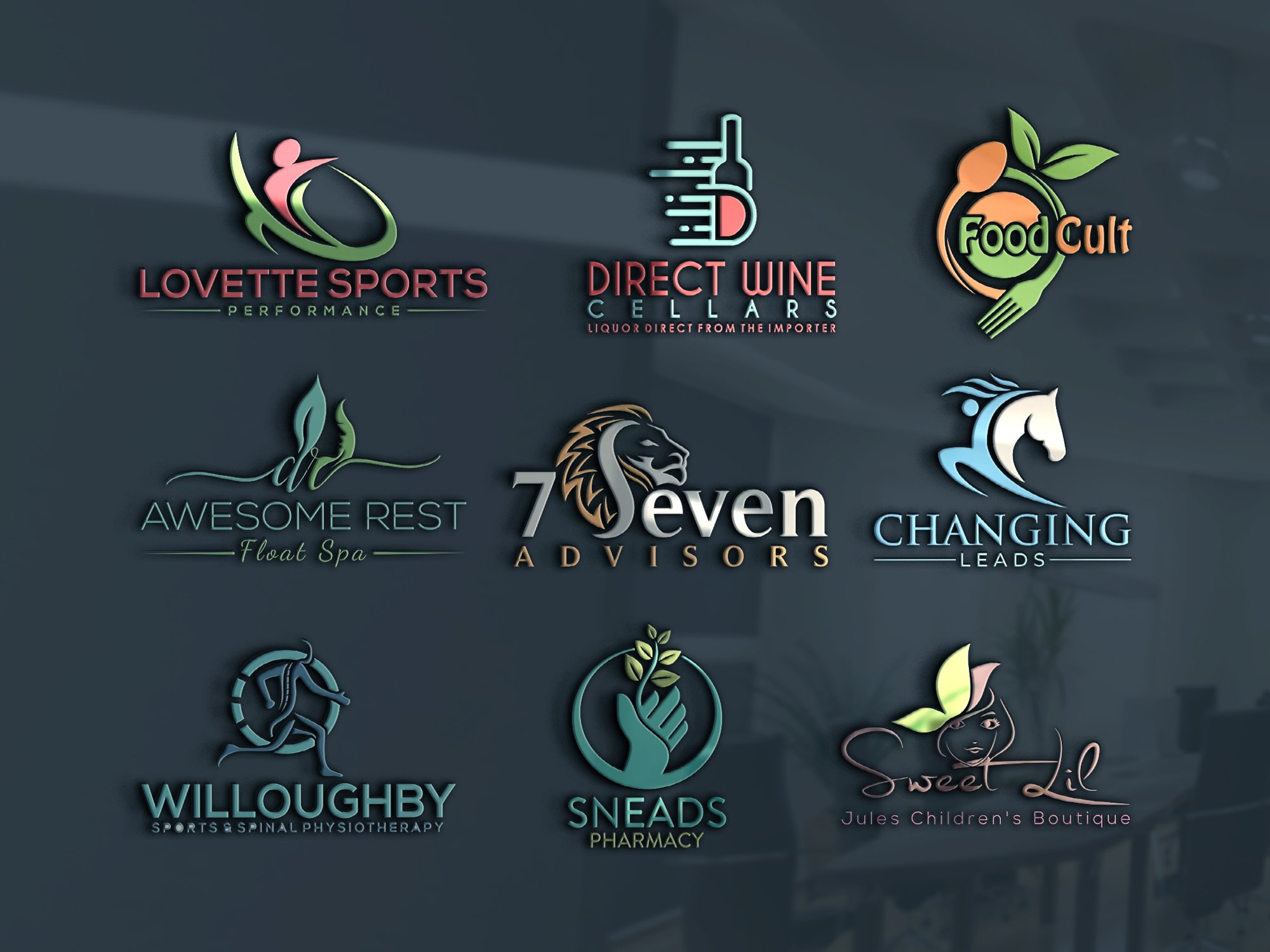 I will design professional and modern business logo or branding