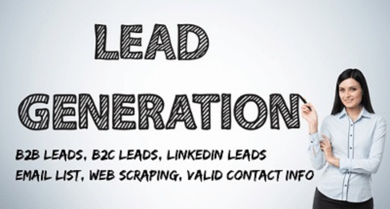 I will supply Lead generation,  B2B,  B2C,  LinkedIn Leads