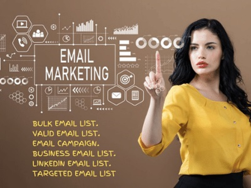 I will provide verified email list details,  email marketing and campaign