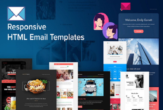 I will create email templates or newsletter for your business