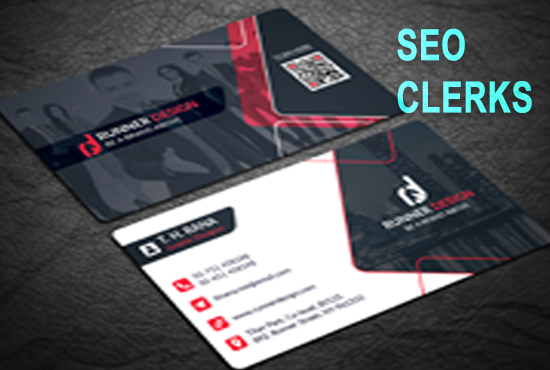 I Will Design minimal and elegant and business card