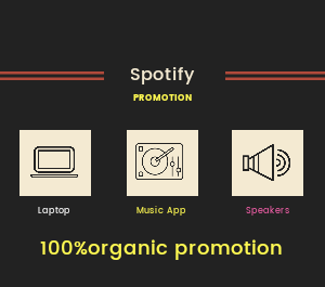 Organic music promotion to target audience