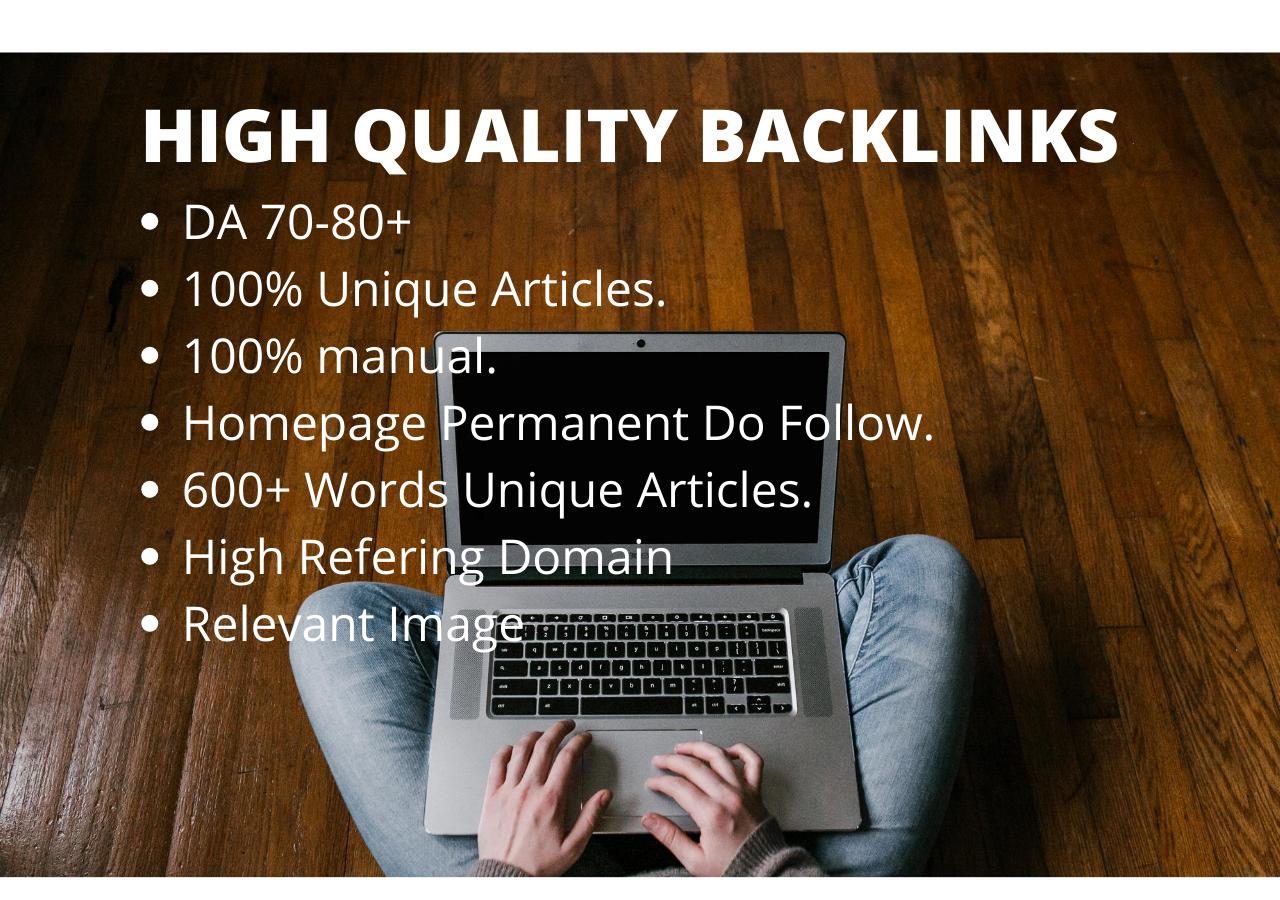 I will Create 2 Manual High Quality Web 2.0 Backlinks