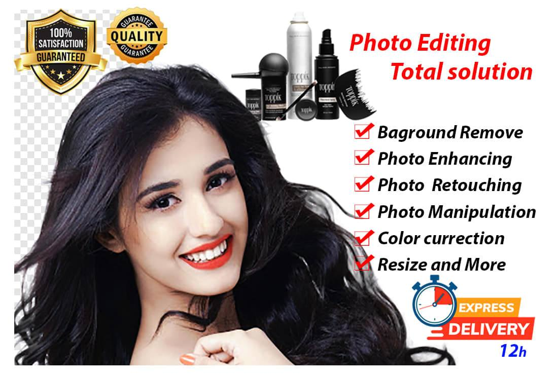 I will Provide You Photo Editing & total solution