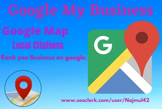 I will create google my business gmb and listing local SEO Citation.